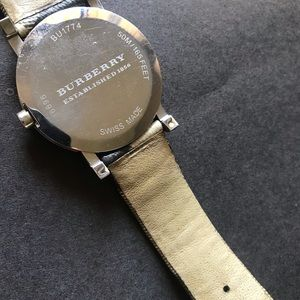 Burberry Accessories - AUTHENTIC burberry watch.